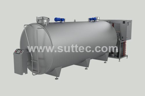 Horizontal Milk Cooling Tank 10000 LT