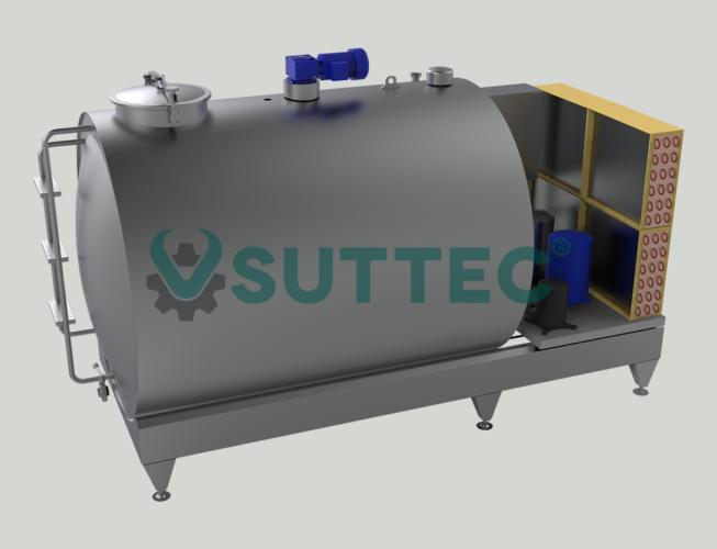 Horizontal Milk Cooling Tank 3000 LT