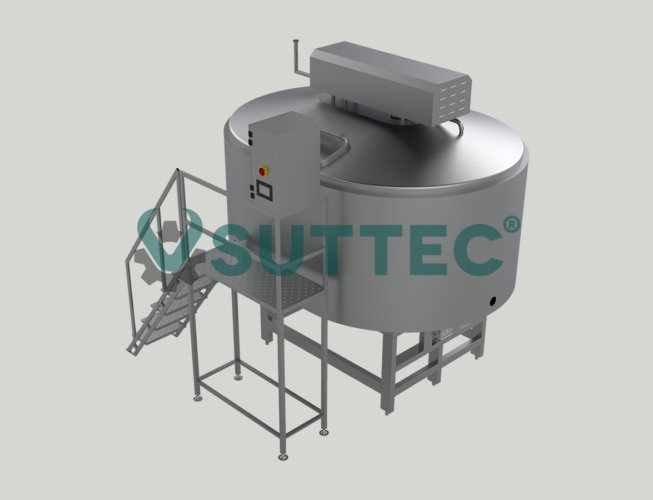 Kashkaval Process Tank 3000 LT